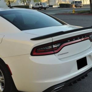 Painted SRT Hellcat Spoiler (21 Colors) | 2011-2021 Charger