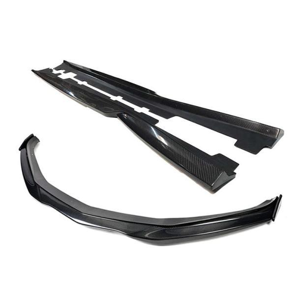 T6 Carbon Fiber Front Splitter Lip & Side Skirts Kit | 2016-2020 Camaro SS