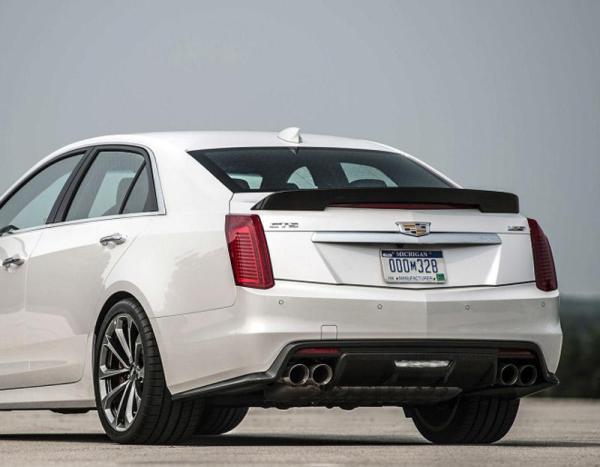 Carbon Fiber Spoiler | 2016-2020 Cadillac CTS-V