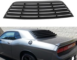 Rear Window Louvers | 2008-19 Challenger