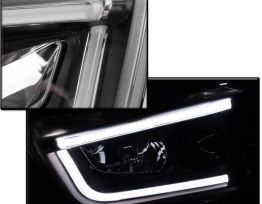 Smoked Strip LED Sequential Headlights | 2011-14 Charger