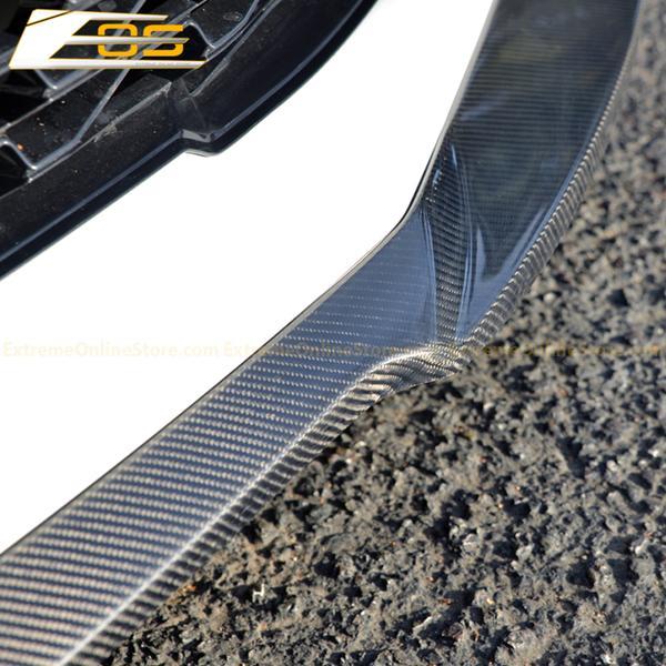 ZL1 Front Splitter Lip & Side Skirts Kit (Primer/Carbon Fiber/Gloss Black)   2016-2018 Camaro SS LT/RS/SS