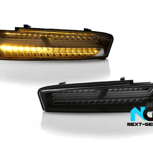 Helix Sequential LED Clear/Smoked Tail Lamps | 2016-18 Camaro