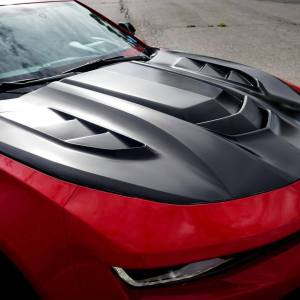 iROC-Z ZR1 Style Hood with Louvers | 2016-19 Camaro