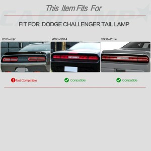 New Style LED Sequential Tail Lights | 2008-2014 Dodge Challenger