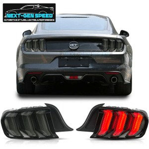 Smoked Sequential Tail Lights | 2015-2021 Ford Mustang