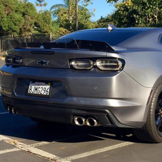 2019+ Camaro SS Wide Wicker Bill w/ Camera Hole (1SS & 2SS Spoiler Only) | 2019-2020 Camaro