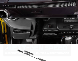 Next-Gen Carbon Fiber Lower Dash Cover | 2016-2020 Camaro