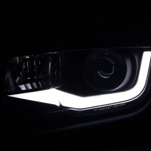 Spec-D LED Tube Projector Headlights | 2010-2013 Camaro