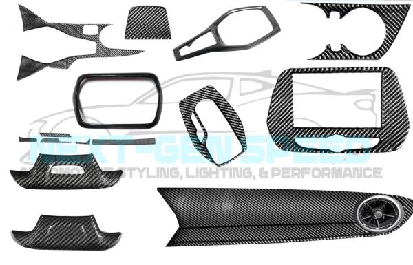 Real Carbon Fiber Interior Trim Kit | 2016-2020 Camaro