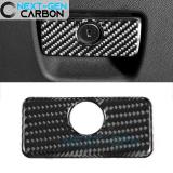 Next-Gen Carbon Fiber Glove Box Handle Cover   2016-2020 Camaro