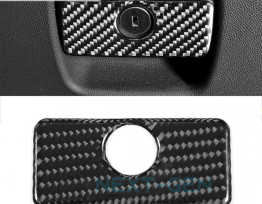 Next-Gen Carbon Fiber Glove Box Handle Cover | 2016-2020 Camaro