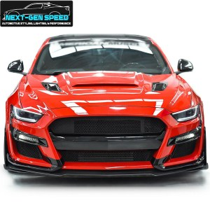 GT500 Front Bumper + Rear Diffuser Conversion Kit | 2018-2021 Ford Mustang