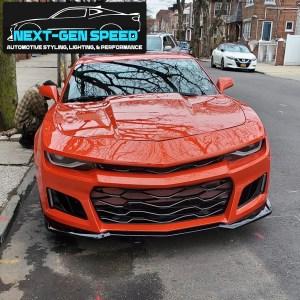 5th to 6th Gen ZL1 Front Bumper Kit w/ 6th Gen Style Headlights | 2014-2015 Chevy Camaro