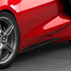 Side Skirt Rocker Panel Extensions | 2020+ Chevy C8 Corvette (84254466)