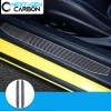 Real Carbon Fiber Door Sill Covers | 2016-2020 Camaro