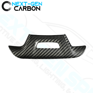 Real Carbon Fiber Steering Wheel Trim Cover Kit   2016 – 2021 Camaro