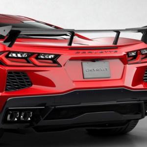 C7Carbon High Wing Spoiler (Carbon Flash Metallic) | 2020+ Chevy Corvette C8
