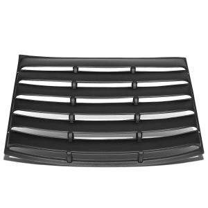Rear Window Louvers | 2010-2015 Chevy Camaro
