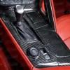 Real Hard Carbon Fiber Center Console Cover Kit | 2014-2019 Chevy Corvette C7