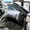Carbon Fiber Side Vent Defogger Trim Covers | 2014-2019 Chevy Corvette C7