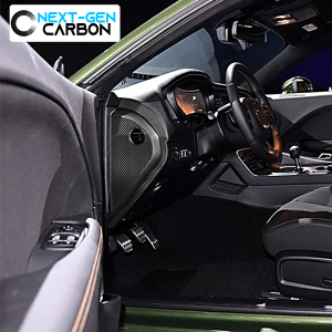 Carbon Fiber Side Dashboard Panel Covers | 2015-2021 Dodge Challenger & Charger