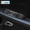 Carbon Fiber Window Switch Panel Covers   2015-2021 Dodge Challenger
