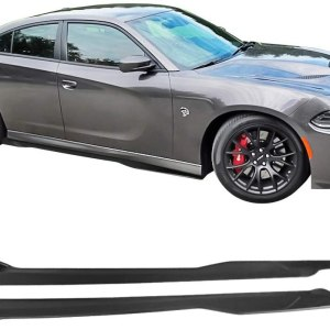 Ikon SRT Side Skirts | 2015-2021 Dodge Charger SRT