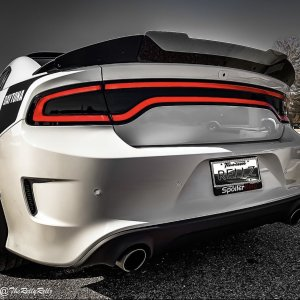 Stealth Extended Wickerbill Rear Spoiler Kit | 2015-2021 Dodge Charger