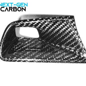 Real Carbon Fiber Push Start Button Trim Cover | 2016-2021 Chevy Camaro