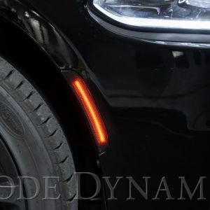 Diode Dynamics Smoked LED Side Markers | 2015-2021 Dodge Charger