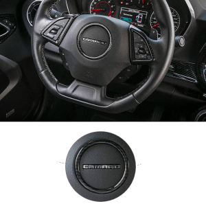 Real Carbon Fiber Center Steering Ring | 2016-2021 Chevy Camaro
