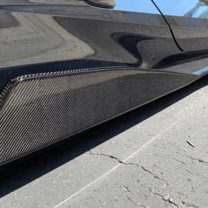 Carbon Flash 5VM Style Side Skirts  | 2020+ C8 Corvette – C7Carbon