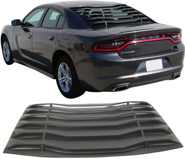 Rear Window Louvers | 2011-2020 Charger