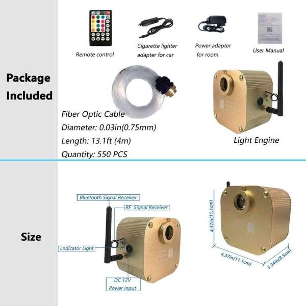 Starlight Headliner LED Ceiling Kit