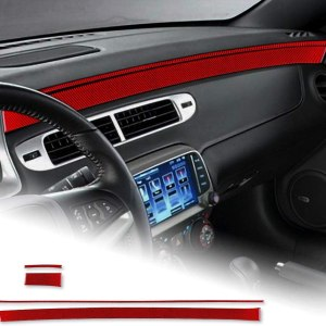 Carbon Fiber Dashboard Overlay Kit | 2010-2015 Chevy Camaro