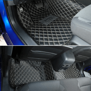Diamond Stitch Interior Mats (Many Colors) | 2015+ Dodge Charger