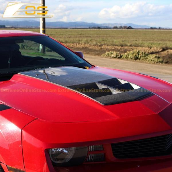 Carbon Fiber ZL1 Hood Insert | 2010-2015 Chevy Camaro