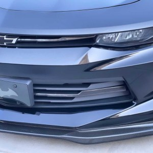 Carbon Fiber Fog Light Trim Covers | 2016-18 Chevy Camaro LT/RS