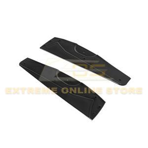Extended Front Splitter Lip & Side Skirts Rocker Panels | 2005-13 Corvette C6 Base Model