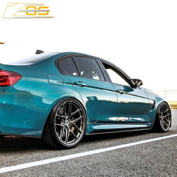 Carbon Fiber Side Skirts Rocker Panels   2014-18 BMW F80 M3