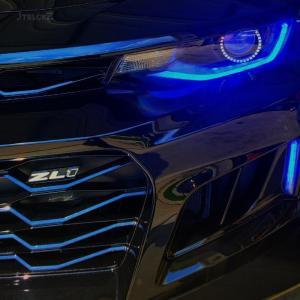 Prebuilt Color Changing RGB LED Headlights | 2016 – 2018 Chevy Camaro