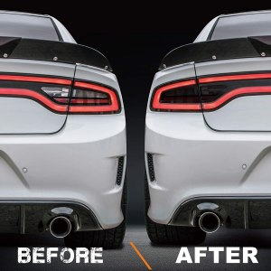 Precut Tail Light & Side Marker Tint | 2015 – 2021 Dodge Charger