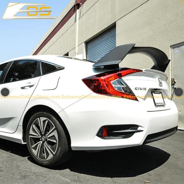 Type R Conversion Rear Trunk Spoiler Kit | 2016+ Honda Civic Sedan