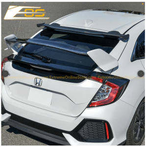 Spoon Style Rear Roof Spoiler Kit | 2016+ Honda Civic Hatchback