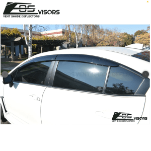 Window Visors Wind Deflectors Rain Guards | 2015-19 Subaru WRX/STI