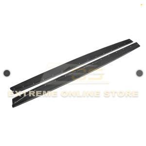 Extended Carbon Fiber Side Skirts Rocker Panels | 15-Up BMW F82 M4