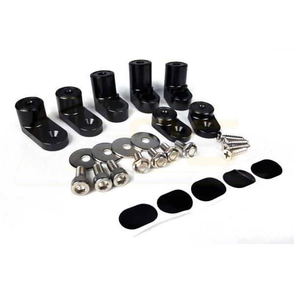 Rear Spoiler Riser Extension Kit | 13-18 ST /16-18 RS Ford Focus