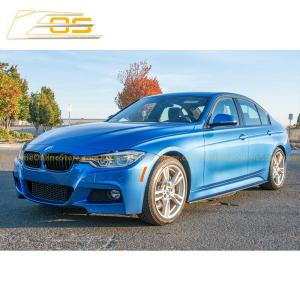 Extended Carbon Fiber Side Skirts Rocker Panels | 2012-18 BMW 3-Series F30 31 M-Sport