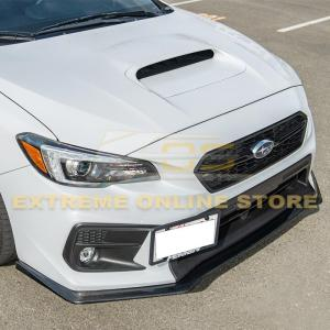 Carbon Fiber HT Style Front Splitter Lip Ground Effect | 2018-21 Subaru WRX / STI